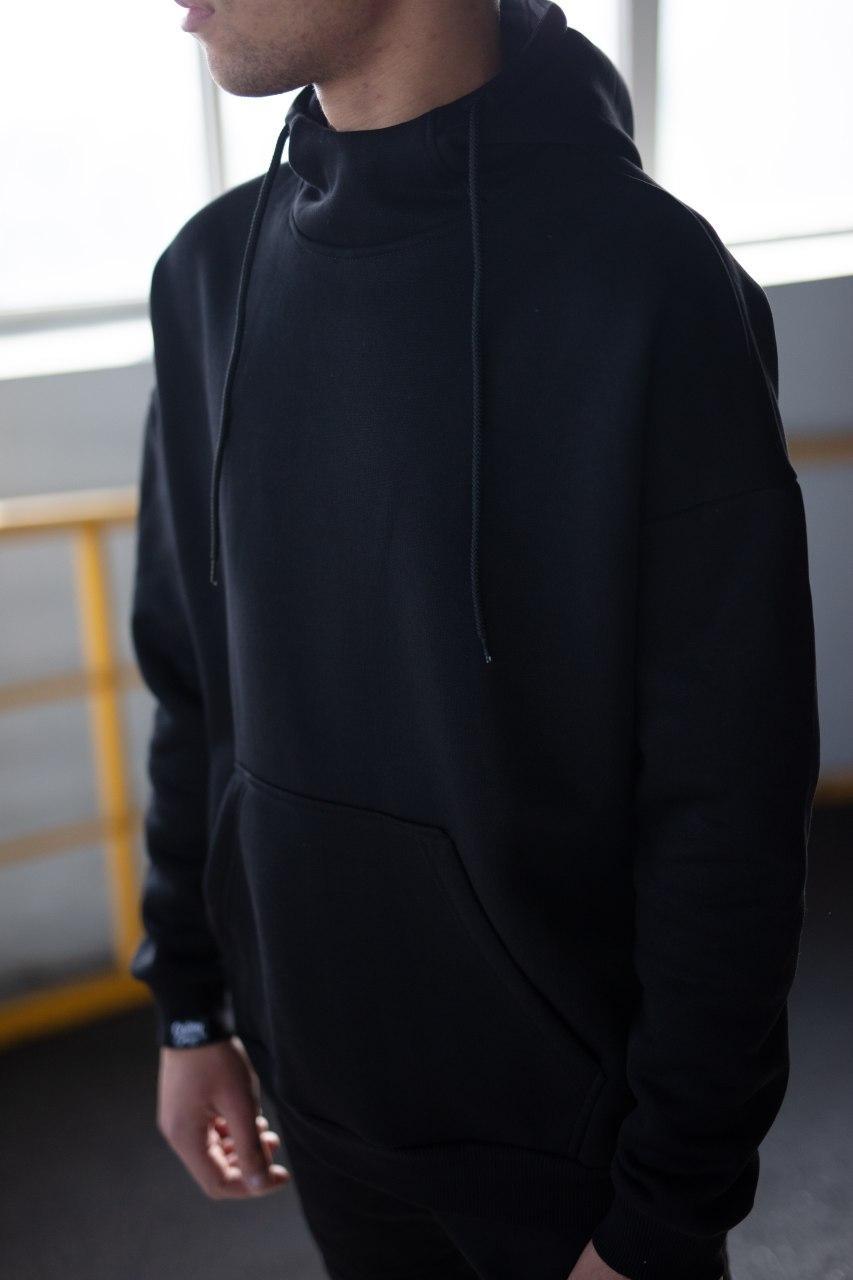 Худи Custom Wear утепл. Black Custom Wear