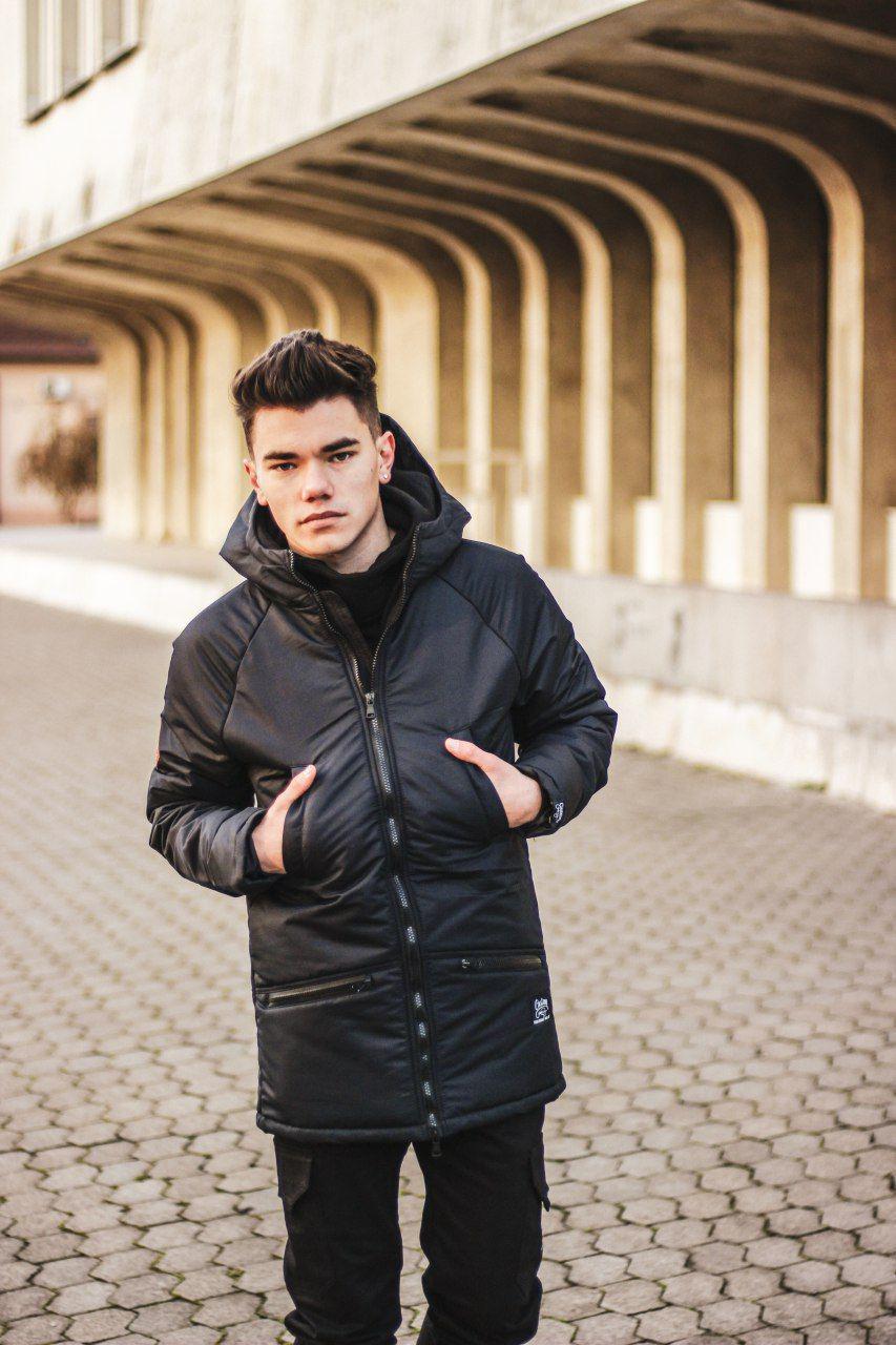 Парка Custom Wear Minimal 2.0 Winter, Black S Черная Custom Wear