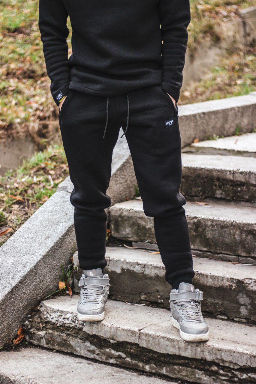 Штаны Custom Wear Japan Black Зима Custom Wear