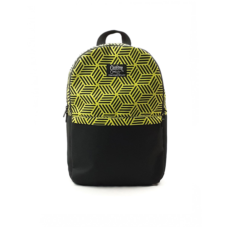 Рюкзак Custom Wear Triple Cubex желтый Мультиколор Custom Wear
