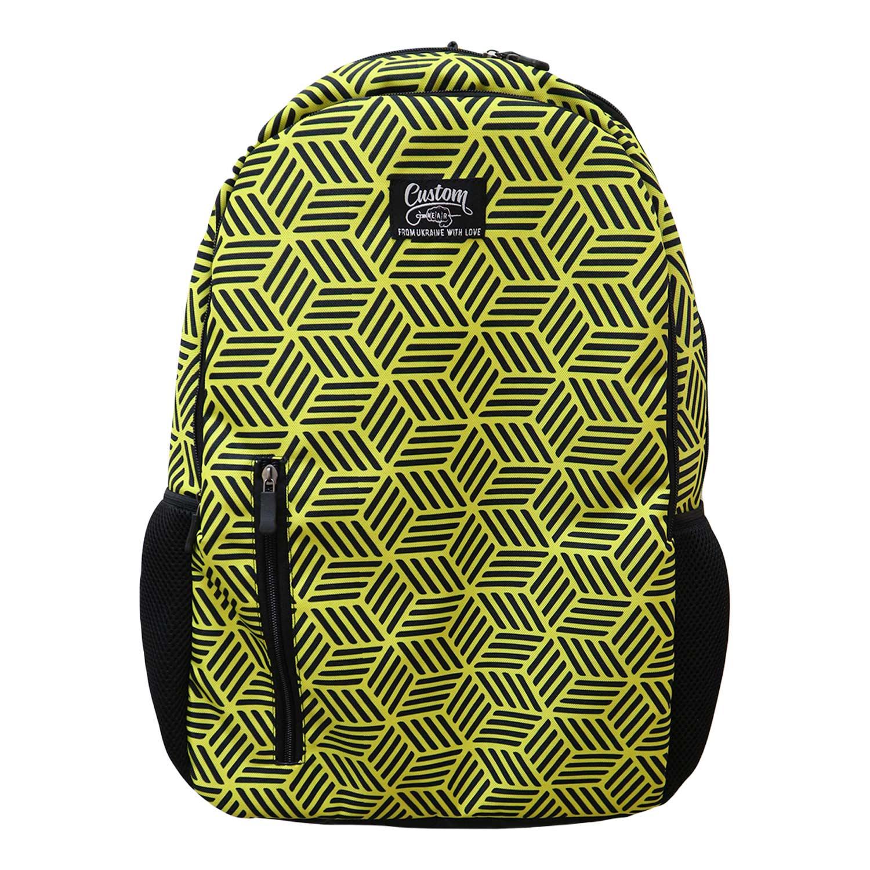 Рюкзак Custom Wear Quatro Cubex желтый Мультиколор Custom Wear