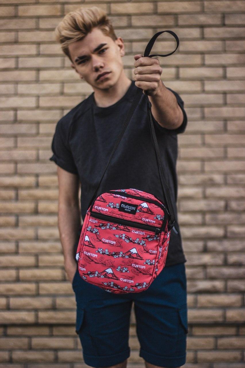 Сумка мессенджер мужская Custom Wear 2.0 Japan Red Мультиколор Custom Wear