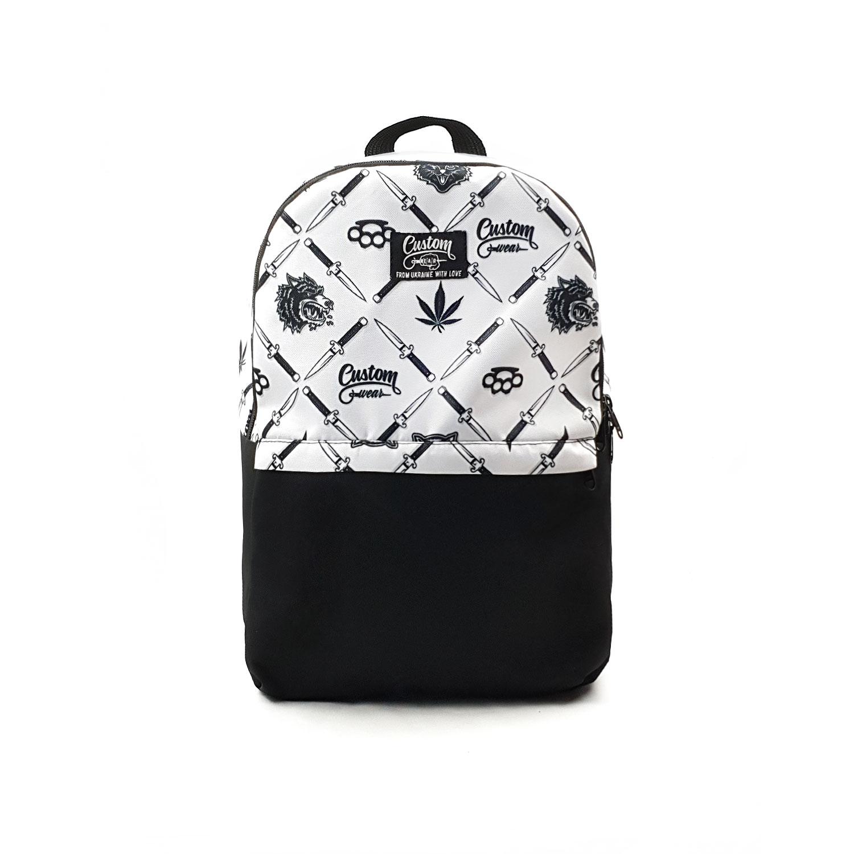 Рюкзак Custom Wear Triple Gangster белый Мультиколор Custom Wear