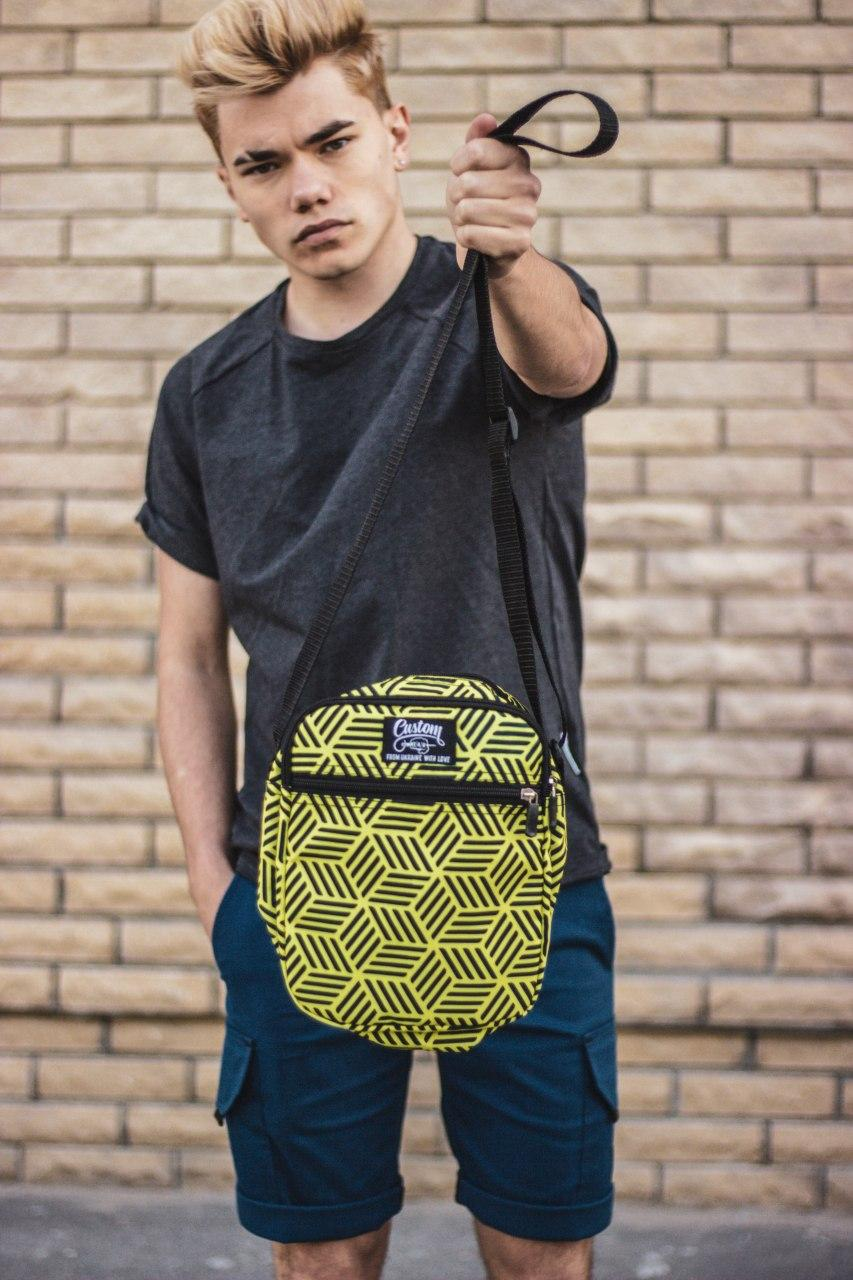 Сумка мессенджер мужская Custom Wear 2.0 Cubex Yellow Custom Wear