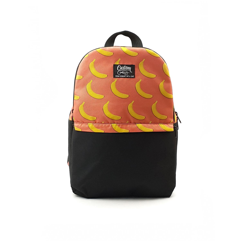 Рюкзак Custom Wear Triple Banana оранжевый Custom Wear