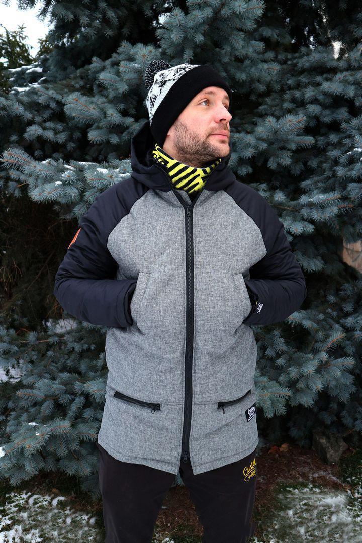 Парка Custom Wear Minimal 2.0 Winter, Black/grey