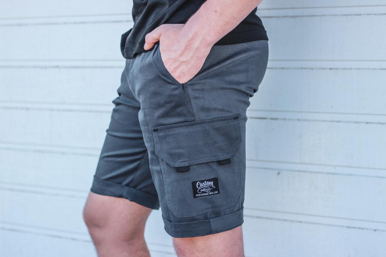 Шорты Custom Wear Premium Gray Custom Wear